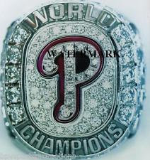 2008 PHILADELPHIA PHILLIES WORLD SERIES RING COLOR 8X10 PHOTO UTLEY HAMELS!!!