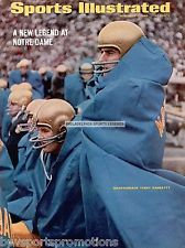 TERRY HANRATTY NOTRE DAME FIGHTING IRISH 8X10 PHOTO SPORTS ILLUSTRATED COVER