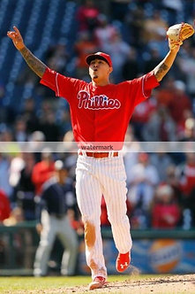 Vince Valasquez Phillies16 strikeout performace photo