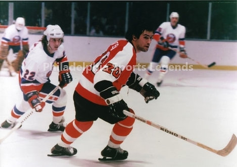 JIm Watson Philadelphia Flyers vintage action 8x10 photo Broad Street Bulllies