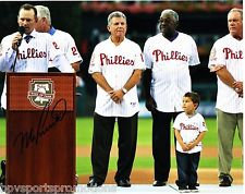 MIKE LIEBERTHAL SIGNED PHILADELPHIA PHILLIES WALL OF FAME 8X10 PHOTO #1