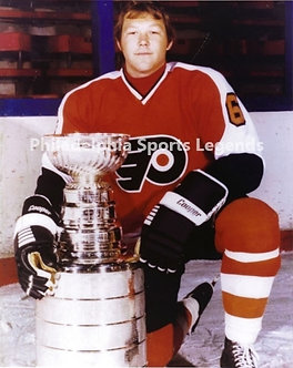 """Andre """"Moose"""" Dupont Philadelphia Flyers Stanley Cup 8x10 photo"""