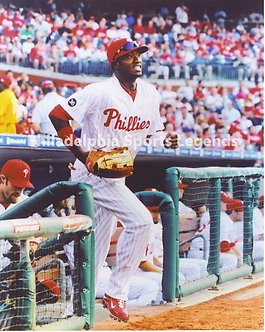 Domonic Brown Philadelphia Phillies first game 8x10