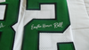 Mike Quick autographed custom Philadelphia Eagles jersey HONOR ROLL inscription