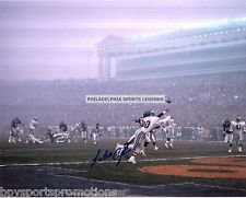 Randall Cunningham signed 11x14 Fog bowl pass