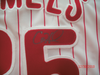 Cole Hamels Philadelphia Phillies signed jersey 2008 World Series MVP