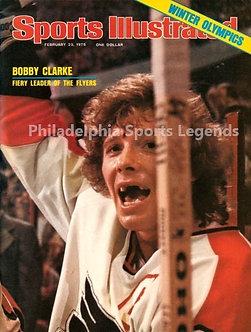 Bob Clarke Philadelphia Flyers Sports Illustrated 8x10 Broad Street Bullies