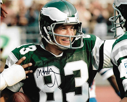 """MARK WAHLBERG SIGNED EAGLES PHOTO """"INVINCIBLE"""" MOVIE 8X10 VINCE PAPALE"""