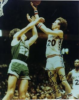 Doug Collins Philadelphia 76ers vintage autographed 8x10 photo Sixers