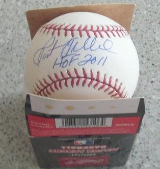 Pat Gillick 2008 Philadelphia Phillies autographed MLB baseball Hall of Fame