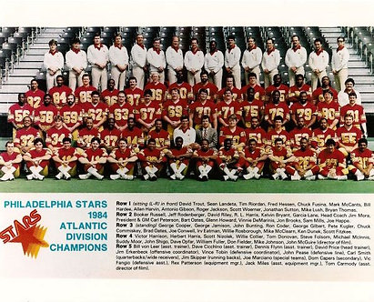 PHILADELPHIA STARS 1984 USFL CHAMPIONS TEAM 8X10 PHOTO