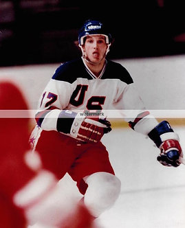 JACK OCCALLAHAN USA MIRACLE ON ICE GOLD MEDAL COLOR PHOTO