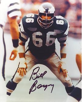 Bill Bergey Philadelphia Eagles autographed 8x10 photo #1