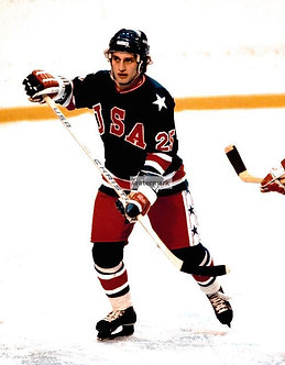 BUZZ SCHNEIDER 1980 HOCKEY USA MIRACLE ON ICE PHOTO