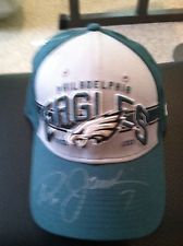 RON JAWORSKI PHILADELPHIA EAGLES SIGNED HAT