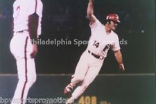PETE ROSE PHILADELPHIA PHILLIES 1980 WORLD SERIES GAME ONE 8X10 CHAMPIONS #2