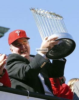 David Montgomery Philadelphia Phillies 2008 World Series Trophy