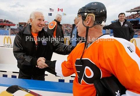 Mark Howe Ed Snider Philadelphia Flyers 2012 Winter Classic Alumni 8x10 HOF