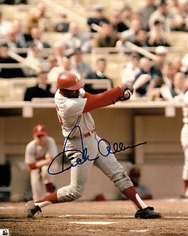 DICK ALLEN 1964 PHILLIES ROY SIGNED 8X10 PHOTO #3