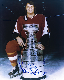 Bill Barber Philadelphia Flyers autographed Stanley Cup 8x10 Broad Street Bully