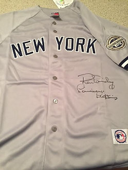 NEW YORK YANKEES RON GUIDRY SIGNED JERSEY LOUISIANA LIGHTNING INSCRIPTION