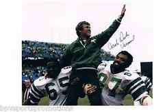 DICK VERMEIL SIGNED PHILADELPHIA EAGLES SUPER BOWL XV 8X10 HUMPHRIES HARRISON