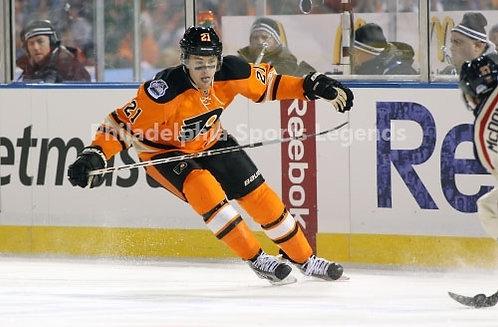 James Van Riemsdyk Philadelphia Flyers Winter Classic action 8x10 photo