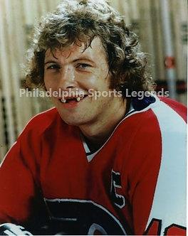 Bob Clarke Philadelphia Flyers toothless 8x10 Broad Street Bullies
