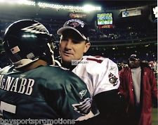 BRAD JOHNSON TAMPA BAY BUCCANEERS DONOVAN MCNABB 2002 NFC CHAMPIONSHIP