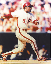 JOE MORGAN PHILADELPHIA PHILLIES 1983 NATIONAL LEAGUE CHAMPIONS 8X10 PHOTO HOF