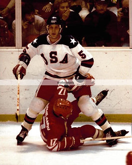 MIKE RAMSEY USA OLYMPIC MIRACLE ON ICE PHOTO