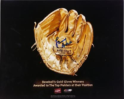 Larry Bowa 1980 Philadelphia Phillies signed 8x10 Rawlings Gold Glove photo