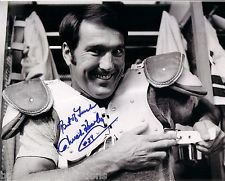 CHUCK HOWLEY DALLAS COWBOYS RING OF HONOR AUTOGRAPHED 8X10 MUST SEE #2