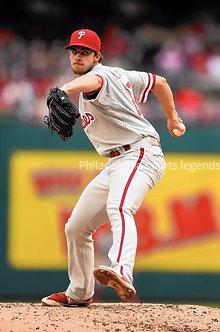 Aaron Nola Philadelphia Phillies unsigned photo #4