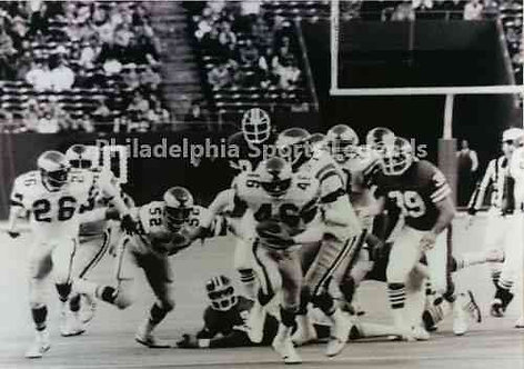 Herm Edwards Miracle at the Meadowlands Philadelphia Eagles vs Giants 8x10 #2