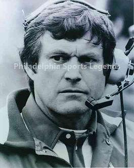 Dick Vermeil Philadelphia Eagles coaching 8x10 photo #1