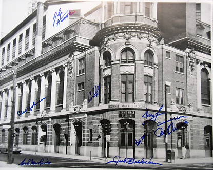 Connie Mack Stadium 16x20 signed by 10 1964 Phillies Wise, McLish