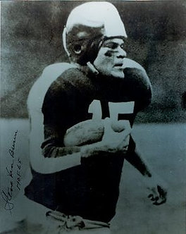 Steve Van Buren autographed 8x10 Philadelphia Eagles Hall of Fame #3
