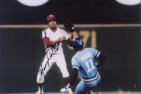 Manny Trillo 1980 Philadelphia Phillies autographed 8x10 World Series photo