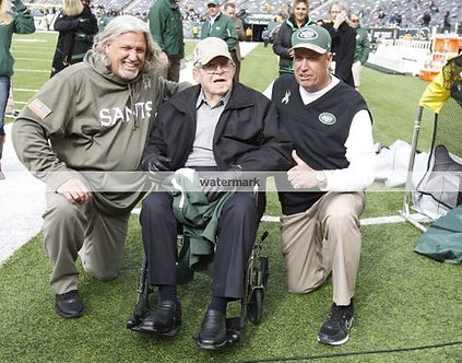 BUDDY RYAN EAGLES WITH SONS REX AND ROB