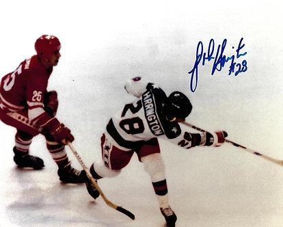 JOHN HARRINGTON USA OLYMPIC MIRACLE ON ICE SIGNED 8X10