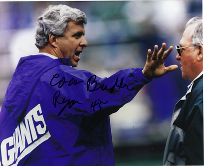 Buddy Ryan Philadelphia Eagles 8x10 with Bill Parcells