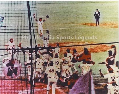 1980 Philadelphia Phillies World Series Celebration 8x10 photo Schmidt McGraw #2