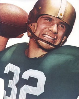 Johnny LuJack Notre Dame Heisman 8x10 photo #2