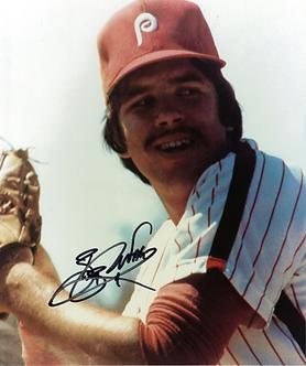 Bob Walk 1980 Philadelphia Phillies World Series Champs signed 8x10 Rookie photo