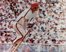 GREG LUZINSKI PHILADELPHIA PHILLIES RETRO COLOR 8X10 PHOTO 1980 WORLD SERIES