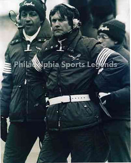 Dick Vermeil Philadelphia Eagles coaching 8x10 photo #3