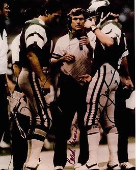 DICK VERMEIL RON JAWORSKI JOE PISARCEK EAGLES SUPER BOWL XV 8X10