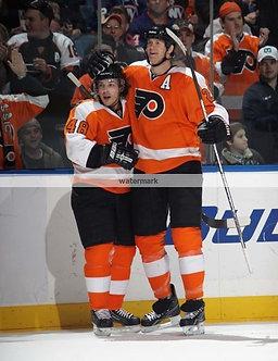 Chris Pronger Danny Briere Philadelphia Flyers photo