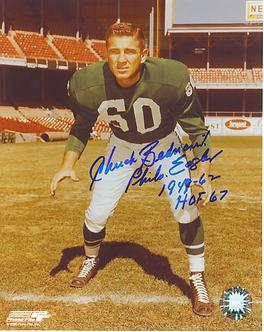 Chuck Bednarik Philadelphia Eagles autographed color 8x10 Linebacker photo